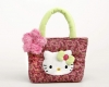 Hello Kitty Bolsito Peluche Flores