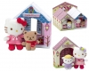 Hello Kitty Peluche Con Casita